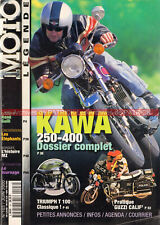 MOTO LEGENDE 103 KAWASAKI 250 S1 350 S2 400 S3 GILERA 500 TRIUMPH T100 GUZZI DKW
