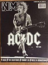 NME New Musical Express 4/3/2000 AC/DC, Muse, Wannadies, Methods Of Mayhem
