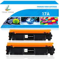 2PK CF217A 17A Toner Cartridge for HP LaserJet Pro M102a M102w M130fn M130fw MFP