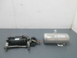2008 08 09 10 Porsche Cayenne Turbo Air Ride Compressor / Tank  #7332