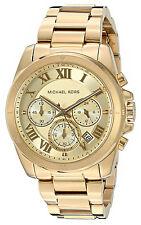 Michael Kors MK6366 Brecken Gold Dial Gold Tone Chronograph Women's Watch