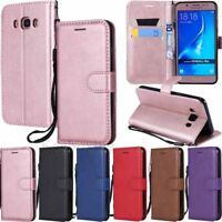 For Samsung Galaxy J3 J4 J5 J6 J7 J8 Wallet Card Holder Flip Leather Case Cover