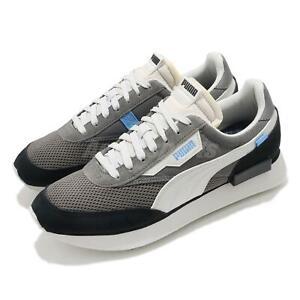 Puma Future Rider Stream On Grey White Black Men Casual Lifestyle Shoe 371530-04