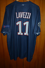 PSG PARIS SAINT GERMAIN FRANCE 2012/2013 HOME FOOTBALL SHIRT JERSEY NIKE LAVEZZI