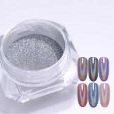 Olografico Nail Art Pigment Laser Glitter Polvere Per Unghie  Decoration Coloful