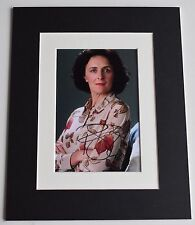 Fiona Shaw Signed Autograph 10x8 photo display Harry Potter Film AFTAL COA