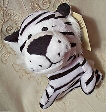 Multipet Striped Cat JUNGLE ANIMAL Fetch Chew Plush Squeaky Dog Puppy Toy 5""