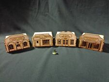 Ttcombat-Old Town scenics - 4 magasins-grand pour MALIFAUX