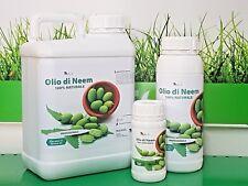 olio di neem 1 lt insetticida repellente biologico orto giardino 100% naturale