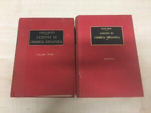 LIBRO LEZIONI DI CHIMICA ORGANICA VOLI. 1 e 2 SILVIO BEZZI