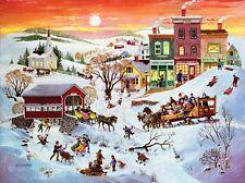 Puzzle 1.000 piezas-invierno país de las maravillas de Sunsout