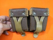 MOSIN NAGANT MAUSER OR SKS AMMO AMMUNITION STRIPPER CLIP-  BELT POUCH