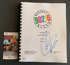 Jason Priestley Autographed Beverly Hills 90210 Full Pilot Script Signed JSA COA