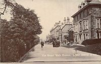 POSTCARD   DERBYSHIRE  BUXTON  The  Broad  Walk         RP