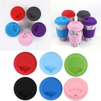 Leakproof Insulated Thermal Travel Coffee Mug Cup Flask Removeable-Lid
