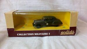 SOLIDO  No 6033  CHEVROLET STAFF CAR