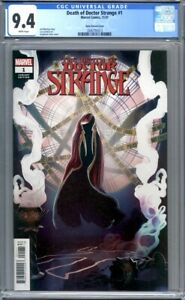 Death of Doctor Strange #1  Stephanie Hans 1:25 Variant Marvel 1st Print CGC 9.4