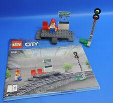 LEGO® City Eisenbahn 60197 Bahnhof Bahnsteig mit Figur
