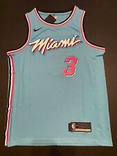 Dwyane Wade #3 Miami Heat Blue Vice City Edition Men's Jersey
