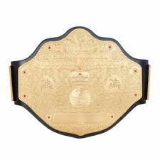 WCW Heavyweight Championship Replica Title Belt Big Gold Leather Premium Look