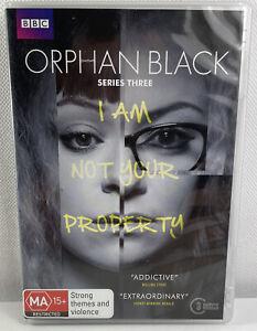 Orphan Black : Series 3 (DVD, 2015, 3-Disc Set) R4 PAL VGC BBC tv shows
