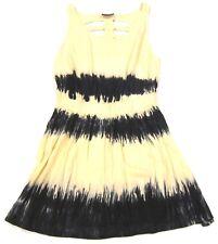 Topshop Tie Dye Cover Up Dress w/ Cage Open Back sz M