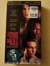 A Time to Kill VHS 1996 New Sandra Bullock Matthew McConaughey