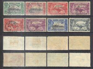 Sierra Leone 1938-44 KGVI.