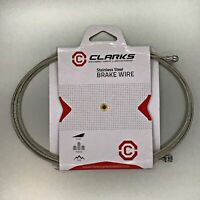 Clarks Bicycle Brake Cable Inner (Road or MTB) —AUS STOCK— Bike Stainless Steel