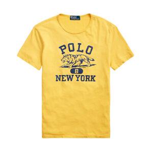 Polo Ralph Lauren Wolf Crew T-Shirt Gold -