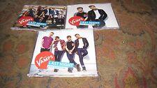 THE VAMPS LAST NIGHT USED 2014 COMPLETE CD/DVD SINGLE SET.