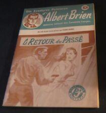 1940s ADVENTURES POLICIER ALBERT BRIEN DETECTIVE SEX MURDER FRENCH  PULP #540