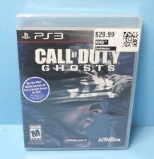 Call of Duty: Ghosts PLAYSTATION 3 PS3 BRAND NEW FACTORY SEALED BONUS MAP