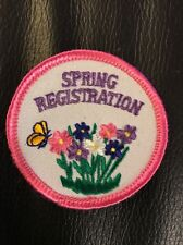 New Never Used Girl Scouts Brownie Badge Patch Spring Registration