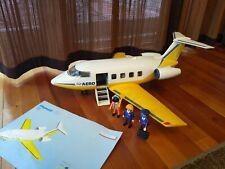 Playmobil Airport Set 3185 3352 Airplane Plane Aero Line 99.99% Complete