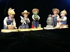 Homco Denim Days Home Interiors Figurine Lot