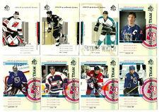 2004-05 SP Authentic Hockey Set - W/SPs - 150 Cards