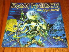 IRON MAIDEN LIVE AFTER DEATH ORIGINAL 2-LP SET WITH BOOKLET
