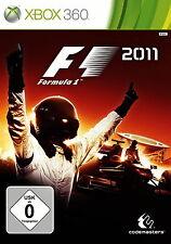 F1 2011 Microsoft Xbox 360 Auto Rennspiel Renn Game Spiel Deutsch abspielbar Neu