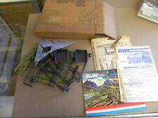 Hasbro 1984 Mail Away G.I. JOE MANTA Wind Surfboard w Mailed Box & Instr. mf