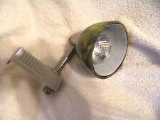Track light Green Swirl Glass Mfg by Cal Lighting