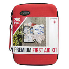 DEAL! L@@K: Lifeline Premium Hard-Shell Foam First Aid Kit, 208 pc: 4038