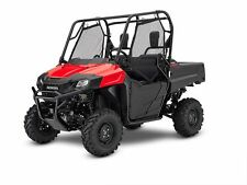 NEW 2017 HONDA PIONEER 700 2 SEAT SXS700 4X4 RED BLOWOUT SALE NO HIDDEN FEES!