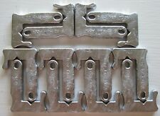 New listing One Dozen 6oz. Duck Hunting Keel Hook Grabber J-Style Decoy Anchor Weights