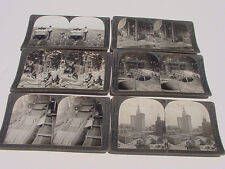 UNITED STATES STEREOVIEW LOT MA.  N.H.  N.Y.  PA. SLATE STEEL PAPER MILL QUARRY