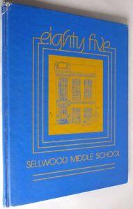 Sellwood Middle School Yearbook (Annual) 1985 Multnomah Co Portland Oregon