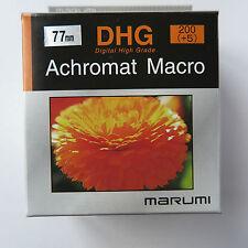 77mm Marumi Achromat macro  +5