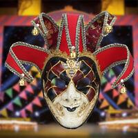 Halloween Clown Mask Joker Costume Mask Horror Fancy Scary Dress Party Cosplay