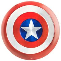 CAPTAIN AMERICA SHIELD METAL SIGN MANCAVE GARAGE GAMEROOM HOME THEATER DECOR
