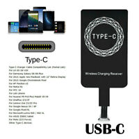 USB-C Type-C Qi Wireless Charger Adapter Charging Receiver For Huawei P9 Oneplus